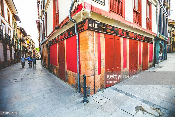 oviedo old town. - oviedo stock pictures, royalty-free photos & images