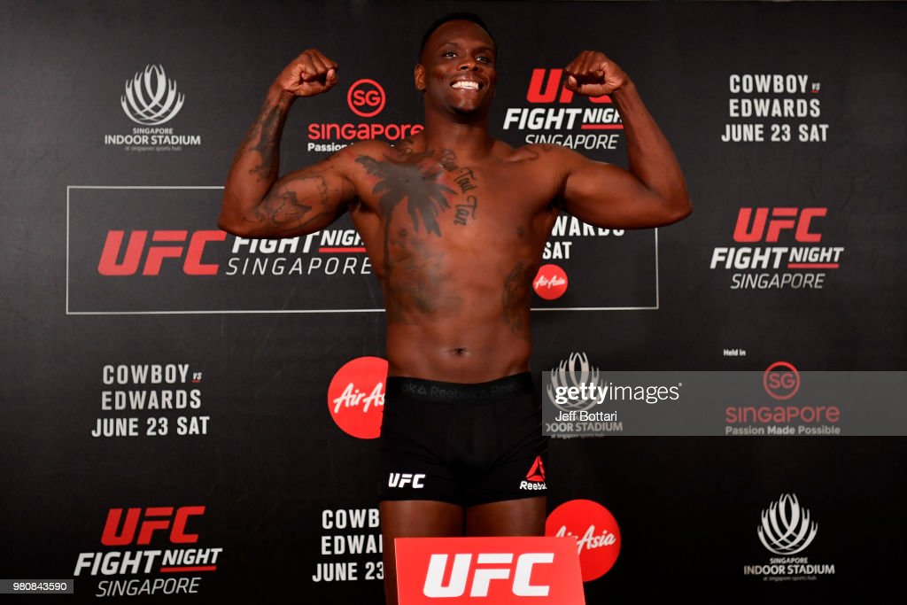 UFC Fight Night Cowboy v Edwards: Weigh-Ins