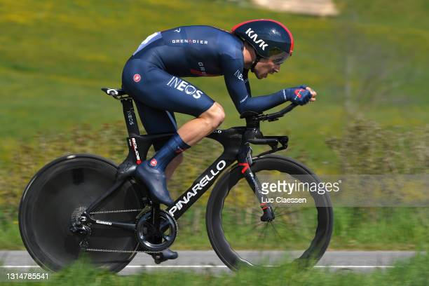 Owain Doull of United Kingdom and Team INEOS Grenadiers during the 74th Tour De Romandie 2021, Prologue a 4,05km Individual Time Trial stage from...
