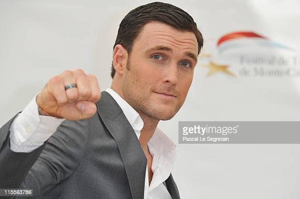 """Owain Yeoman attends """"The Mentalist"""" photocall during the 51st Monte Carlo TV Festival at the Grimaldi forum on June 8, 2011 in Monaco, Monaco."""