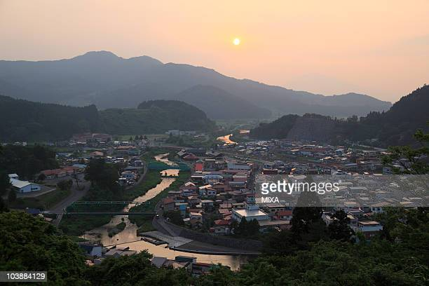owani onsen, owani, minamitsugaru, aomori, japan - präfektur aomori stock-fotos und bilder
