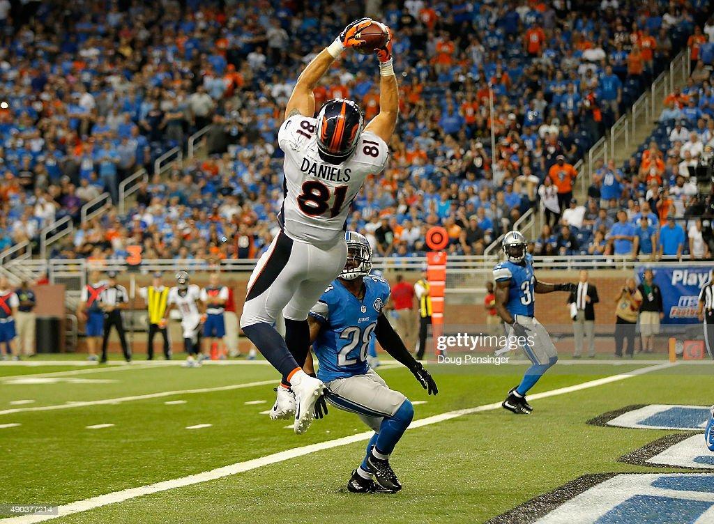 Denver Broncos v Detroit Lions