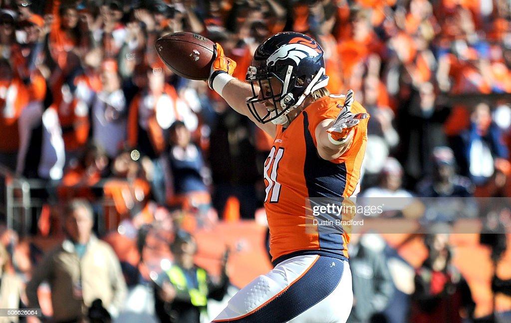 AFC Championship - New England Patriots v Denver Broncos : Nachrichtenfoto