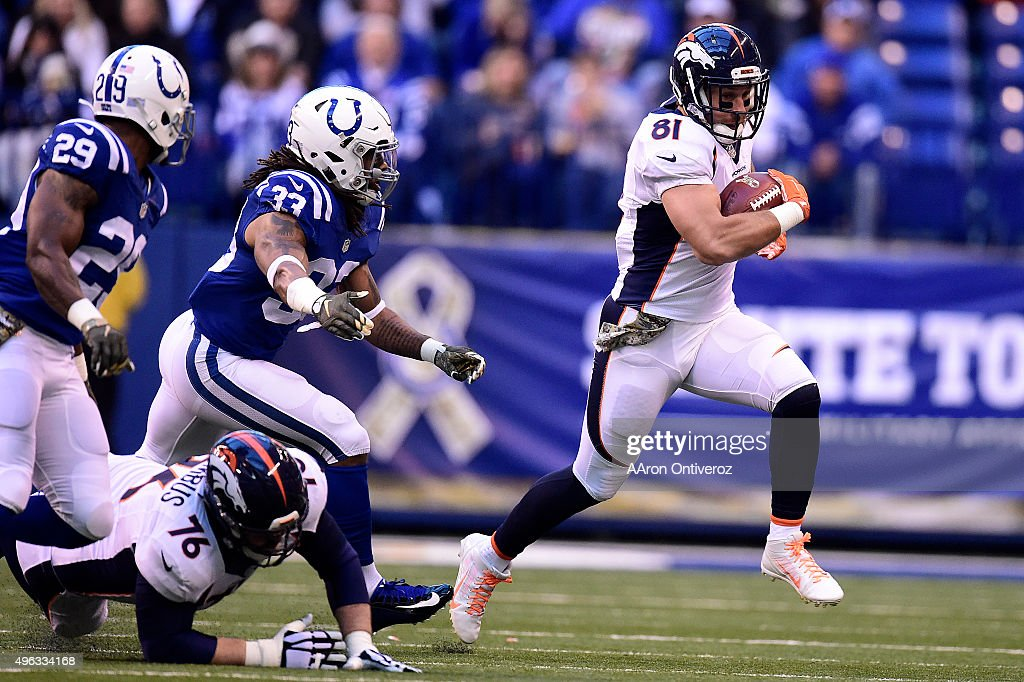Indianapolis Colts vs Denver Broncos, NFL Week 9 : News Photo