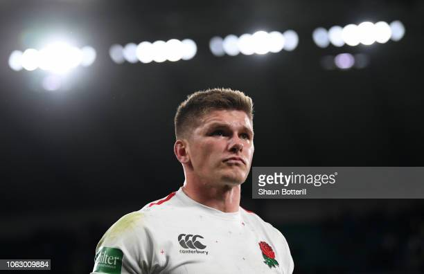 Owen Farrell of England after the Quilter International match between England and South Africa at Twickenham Stadium on November 03 2018 in London...