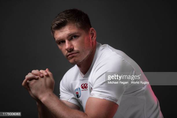 Owen Farrell of England poses for a portrait during the England Rugby World Cup 2019 squad photo call on September 15 2019 in Miyazaki Japan