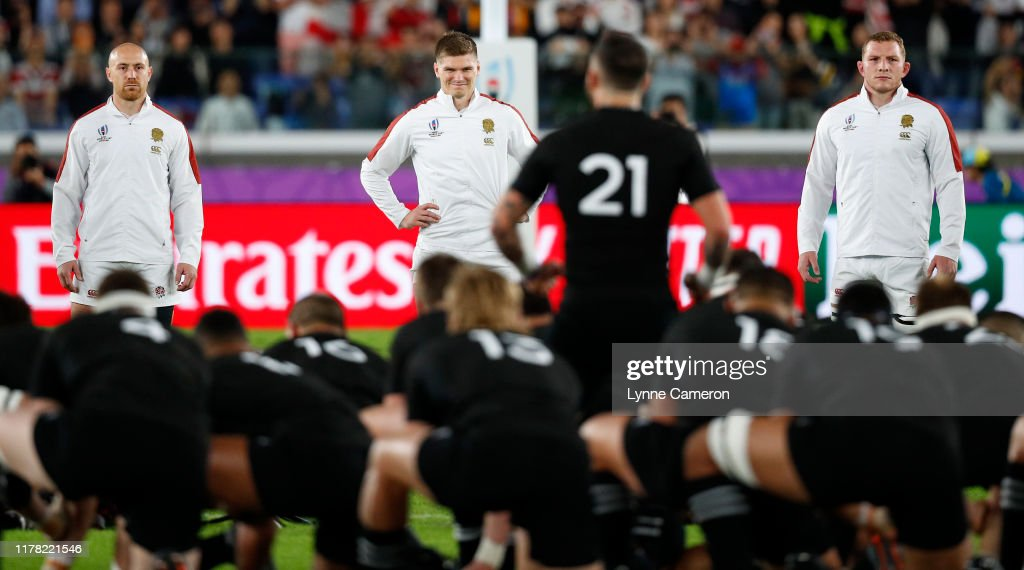 England v New Zealand - Rugby World Cup 2019: Semi-Final : ニュース写真