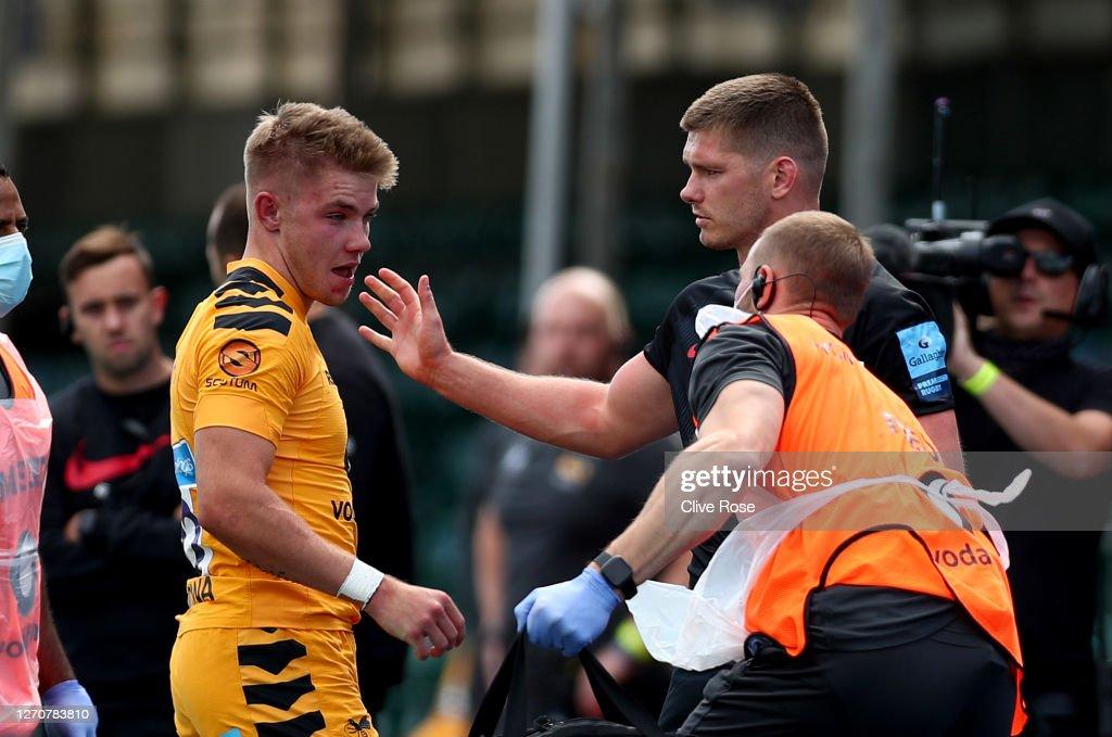 Saracens v Wasps - Gallagher Premiership Rugby : ニュース写真