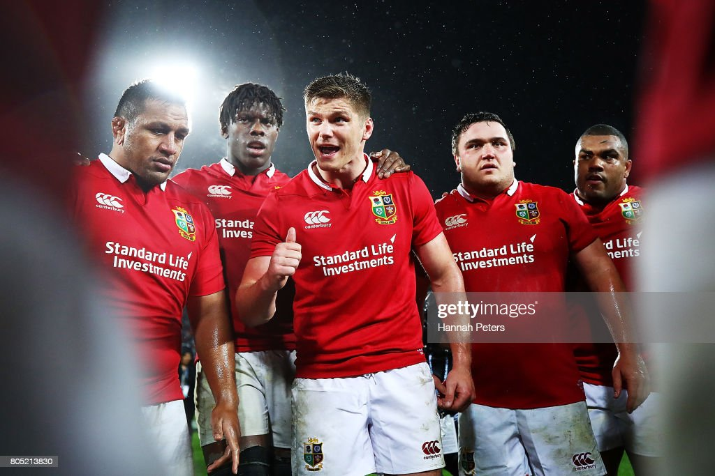New Zealand v British & Irish Lions : ニュース写真