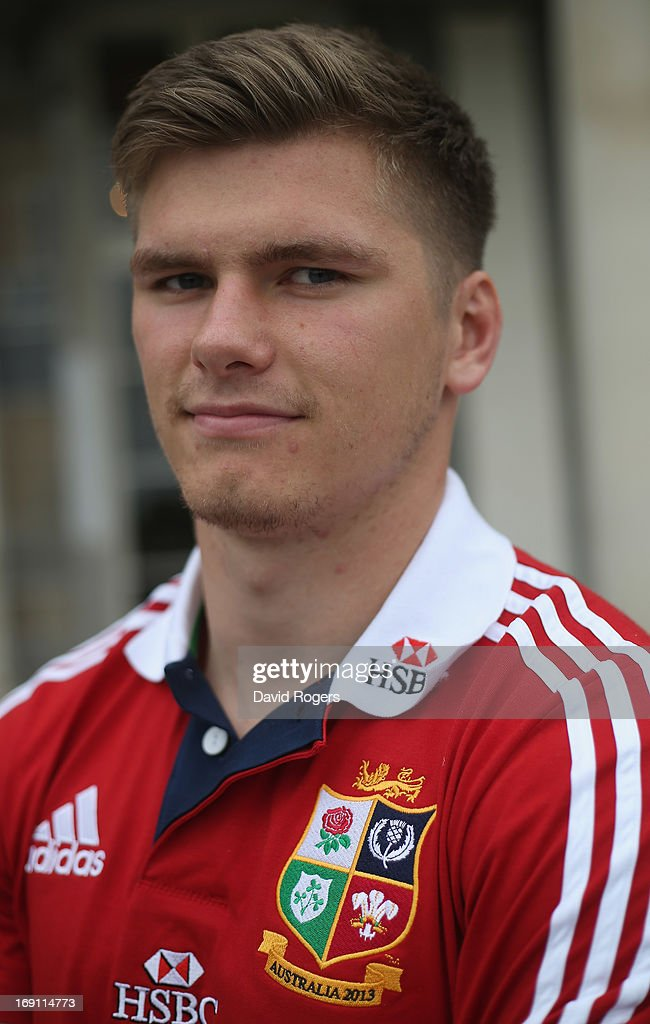 Owen Farrell poses during the British and Irish Lions media session held at Carton House on May 20, 2013 in Maynooth, Ireland.