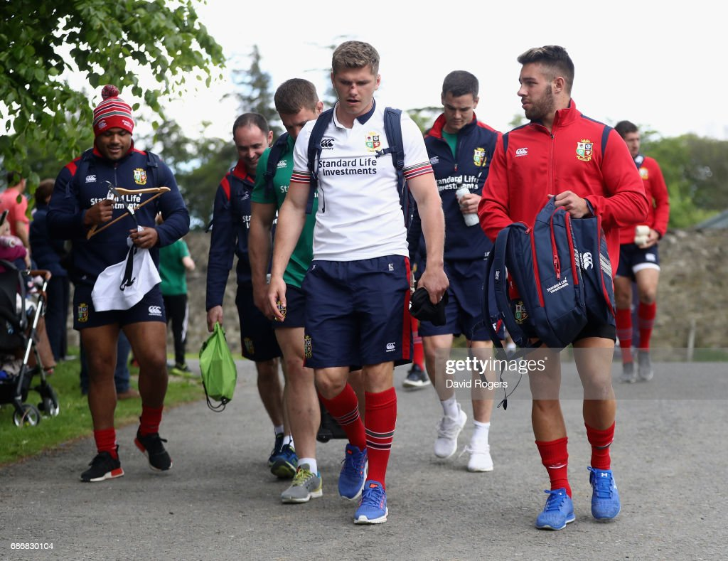 British and Irish Lions Squad Training and Press Conference : News Photo
