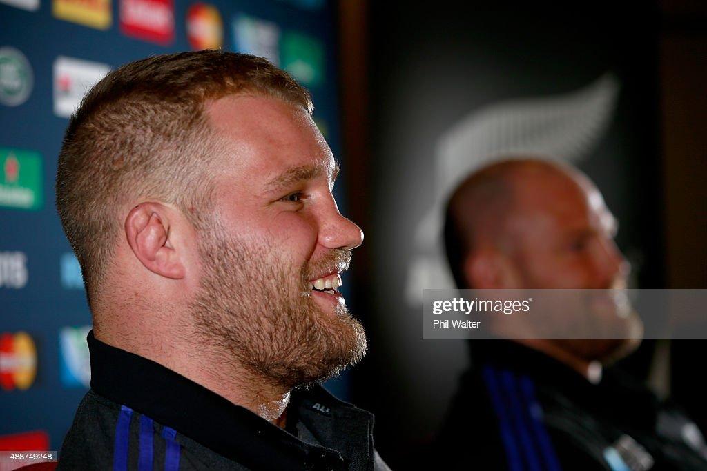 New Zealand All Blacks Media Session