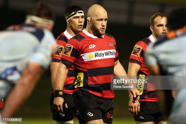 Owen Franks of Canterbury in action during the round 6 Mitre 10 Cup match between Northland and Canterbury at Semenoff Stadium on September 13, 2019...