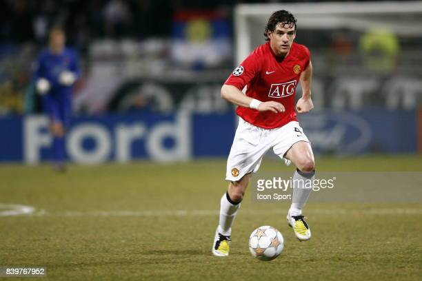 Owen HARGREAVES - - Lyon / Manchester United - 1/8F Champions League,