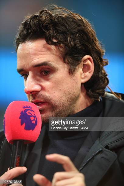 Owen Hargreaves during the Premier League match between Manchester City and Liverpool FC at Etihad Stadium on January 3, 2019 in Manchester, United...