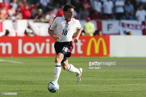 Owen HARGREAVES of England during the European Championship match between England and Switzerland at Estadio Cidade de Coimbra, Coimbra, Portugal on...