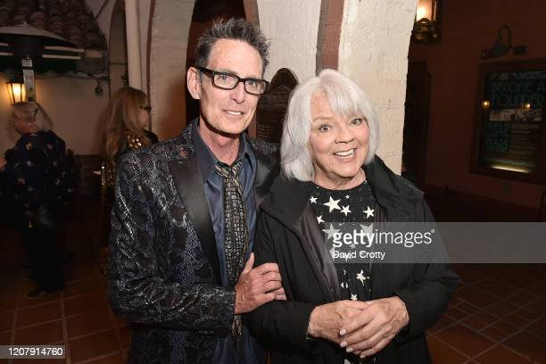 Owen Masterson and Cherry Vanilla attend the House Of Cardin Special Screening At Palm Springs Modernism Week at The Plaza Theater on February 21...