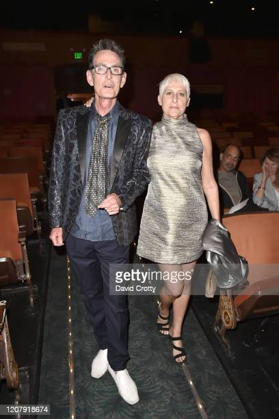 Owen Masterson and Christine Anthony attend the House Of Cardin Special Screening At Palm Springs Modernism Week at The Plaza Theater on February 21...