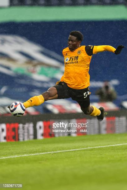 Owen Otasowie of Wolverhampton Wanderers during the Premier League match between West Bromwich Albion and Wolverhampton Wanderers at The Hawthorns on...