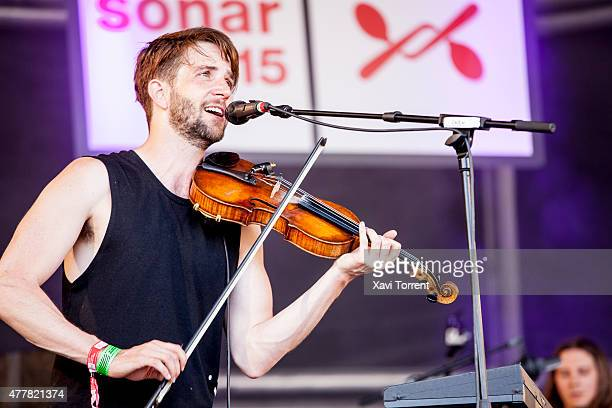 Owen Pallett performs on stage during day 2 of Sonar Music Festival on June 19 2015 in Barcelona Spain