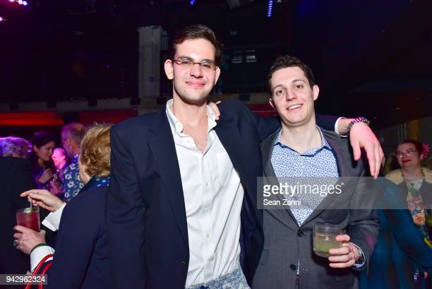 Owen Rapport and Tobey Levy attend the Spring Party to benefit Aperture and to celebrate The Photographer in the Garden at Public Hotel on April 6...