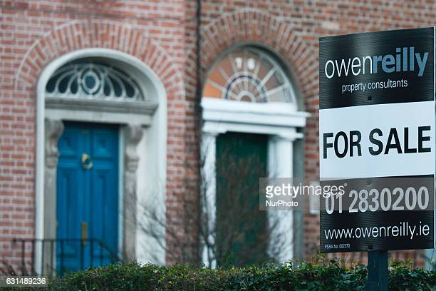 Owen Reilly property consultants signs in front of the same houses for sale in Rathmines as more and more signs can be seen around Dublin since the...