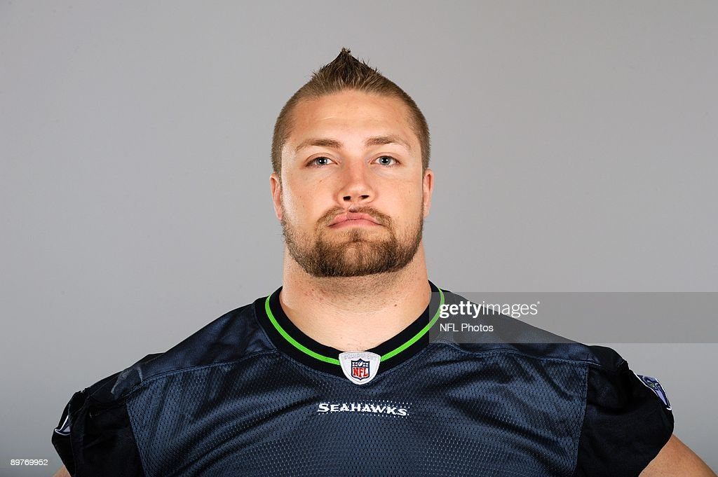 Owen Schmitt of the Seattle Seahawks poses for his 2009 NFL headshot at photo day in Seattle, Washington.