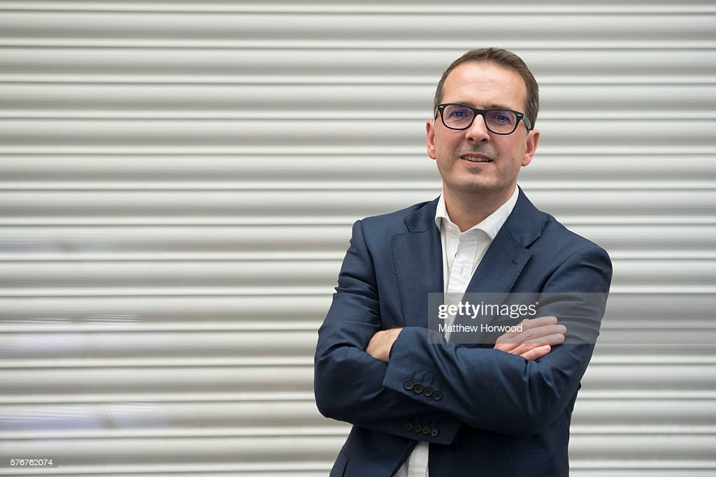 Owen Smith MP Poses For Leadership Campaign Pictures