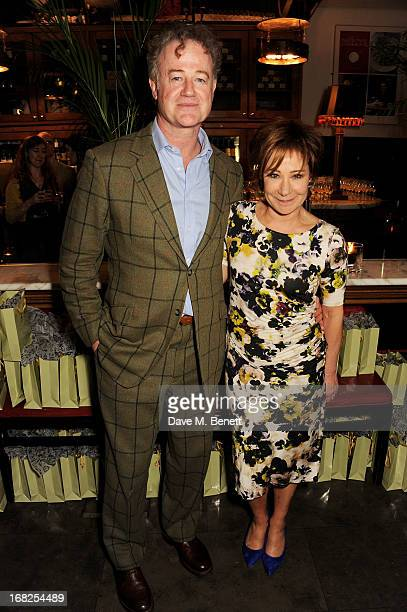 Owen Teale and Zoe Wanamaker attend an after party following the press night performance of 'Passion Play' at The National Gallery on May 7 2013 in...