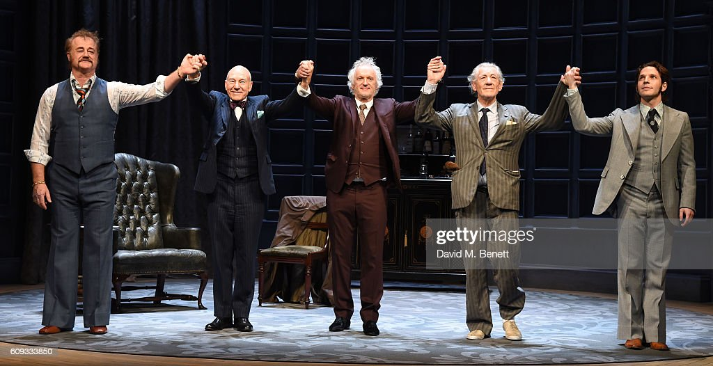 """No Man's Land"" - Press Night - Curtain Call : News Photo"