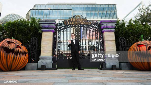 """Owen Vaccaro attends the World Premiere of """"The House With The Clock In Its Walls"""" at Westfield White City on September 5, 2018 in London, England."""