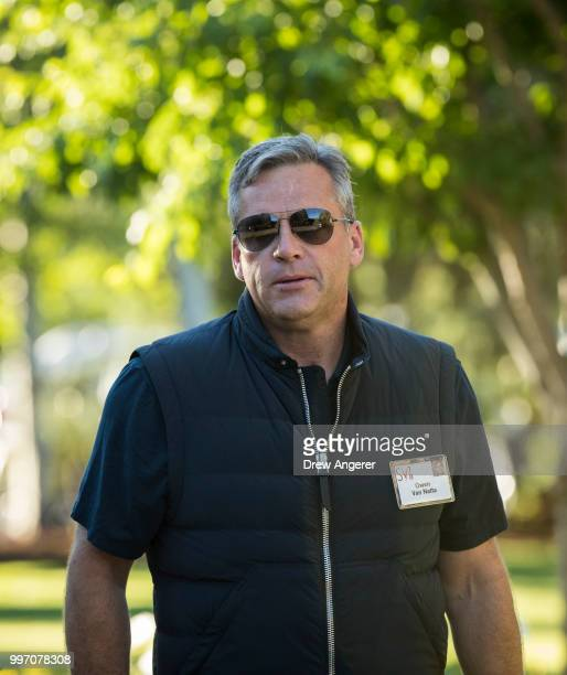 Owen Van Natta former chief operating officer at Facebook and director at Boku Inc attends the annual Allen Company Sun Valley Conference July 12...