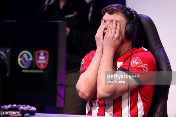 Owen 'Venny' Venn of Southamptn during day one of the 2019 ePremier League Finals at Gfinity Arena on March 28 2019 in London England