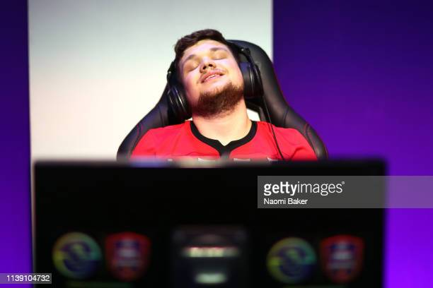 Owen 'Venny' Venn of Southampton reacts during day 2 of the ePremier League Finals 2019 at Gfinity Arena on March 29 2019 in London England