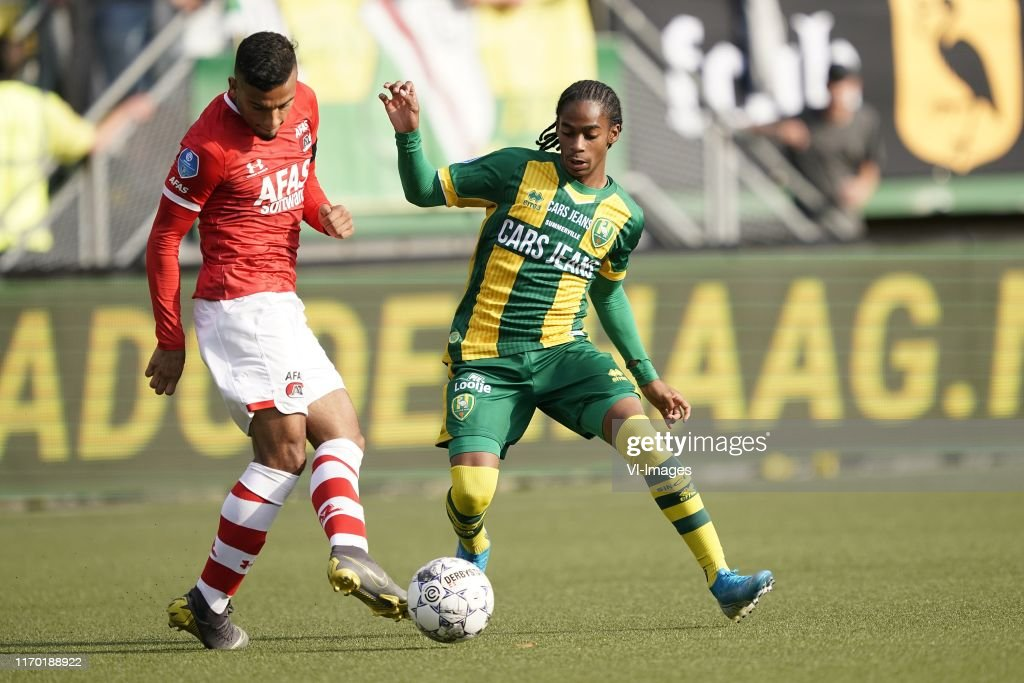 Owen Wijndal Of Az Crysencio Summerville Of Ado Den Haag During The News Photo Getty Images