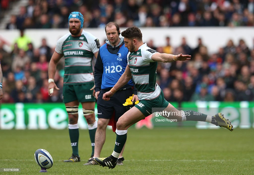 Leicester Tigers v Racing 92  - European Rugby Champions Cup Semi Final : News Photo