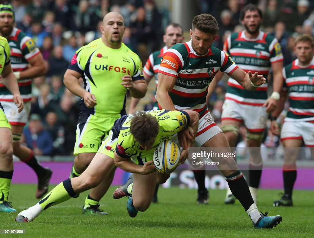 Leicester Tigers v Sale Sharks - Aviva Premiership : News Photo