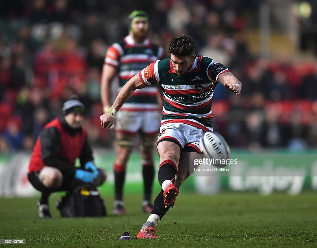 Leicester Tigers v Munster Rugby - European Rugby Champions Cup : News Photo