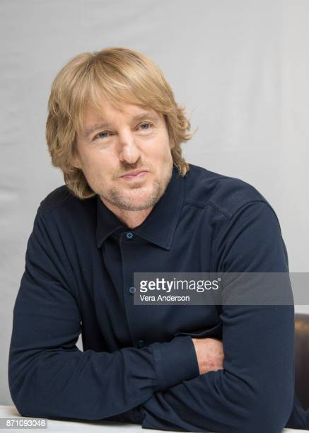 Owen Wilson at the Wonder Press Conference at the Langham Hotel on November 5 2017 in London England
