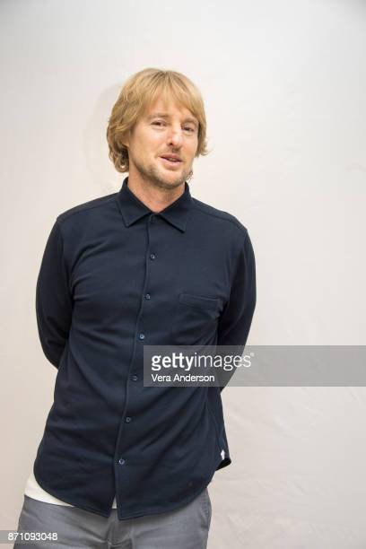 """Owen Wilson at the """"Wonder"""" Press Conference at the Langham Hotel on November 5, 2017 in London, England."""