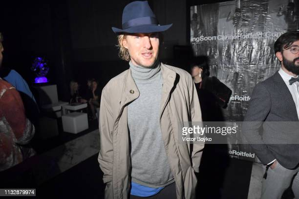 Owen Wilson attends La Nuit by Sofitel Party with CR Fashion Book at Pavillon Cambon during Paris Fashion Week Womenswear Fall/Winter 2019/2020 on...