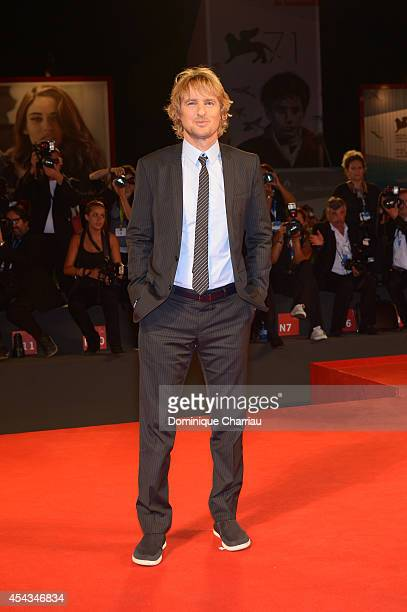 Owen Wilson attends 'She's Funny That Way' Premiere during the 71st Venice Film Festival at Sala Grande on August 29 2014 in Venice Italy