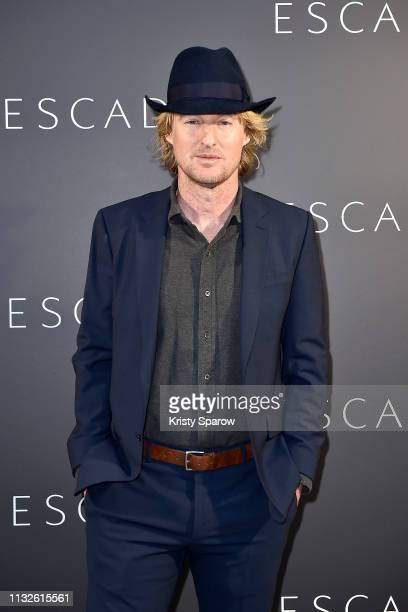 Owen Wilson attends the ESCADA Residency as part of the Paris Fashion Week Womenswear Fall/Winter 2019/2020 on February 27, 2019 in Paris, France.