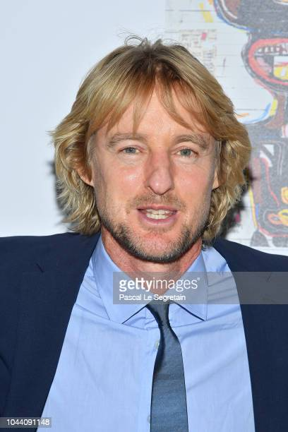 Owen Wilson attends the Opening Of The New Exhibitions JeanMichel Basquiat And Egon Schiele At The Fondation Louis Vuitton at Fondation Louis Vuitton...