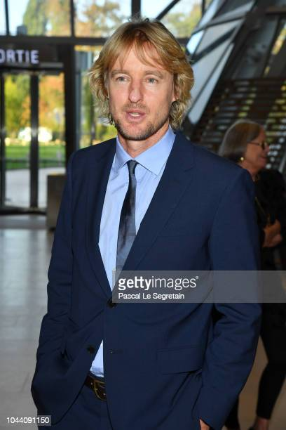 Owen Wilson attends the Opening Of The New Exhibitions Jean-Michel Basquiat And Egon Schiele At The Fondation Louis Vuitton at Fondation Louis...