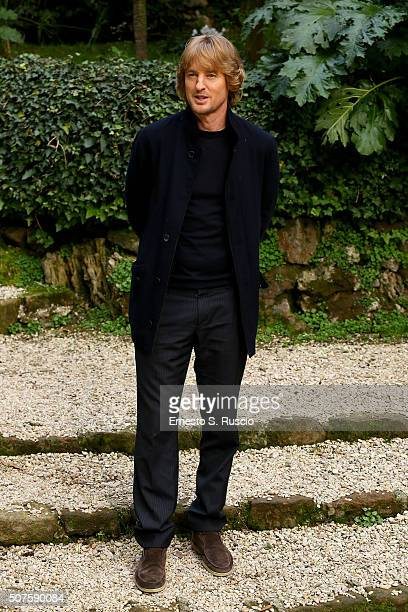 Owen Wilson attends the Photocall for the Fan Screening of the Paramount Pictures film 'Zoolander No 2' at 'Hotel De Russie Garden' on January 30...