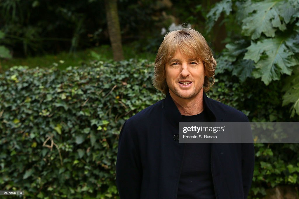 Owen Wilson attends the Photocall for the Fan Screening of the Paramount Pictures film 'Zoolander No. 2' at 'Hotel De Russie Garden' on January 30, 2016 in Rome, Italy.