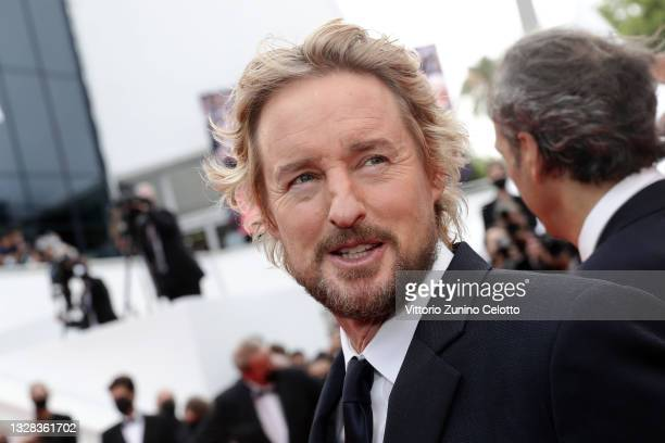 """Owen Wilson attends the """"The French Dispatch"""" screening during the 74th annual Cannes Film Festival on July 12, 2021 in Cannes, France."""