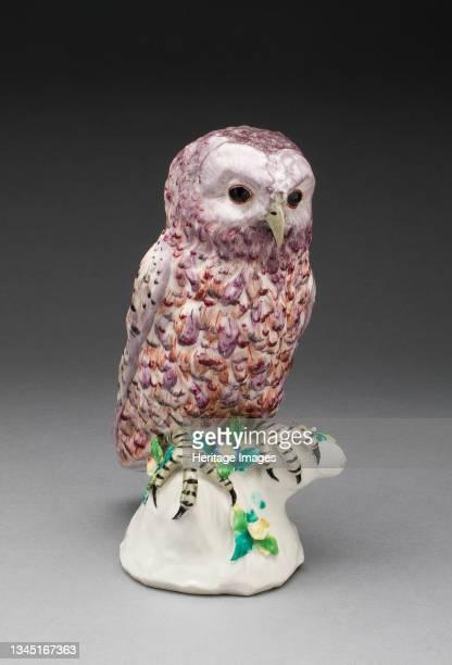 Owl, Bow, circa 1760. Artist Bow Porcelain Factory.