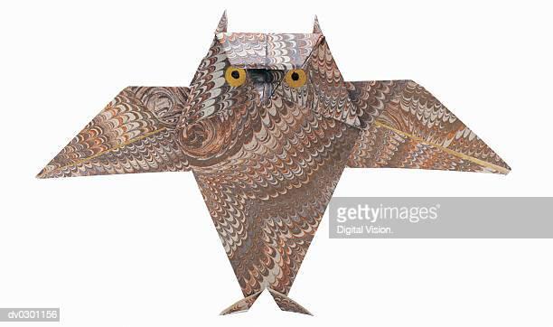 Owl, origami
